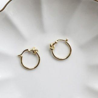 Pendientes Knot Gold