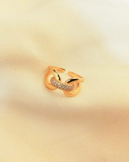 Anillo Shiny Knot