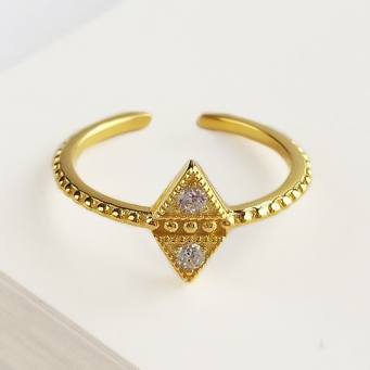Anillo Triangles Gold