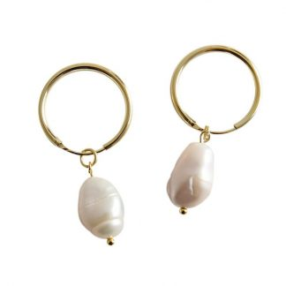 Pendientes Pearly Gold
