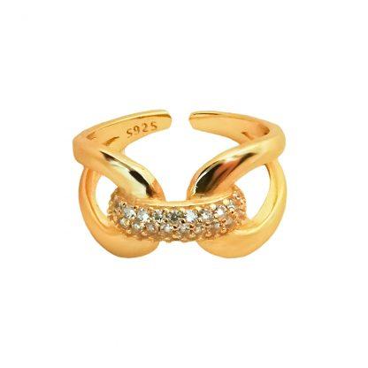 Shiny Knot Gold