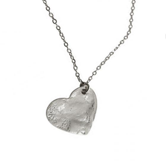 Collar Heart silver