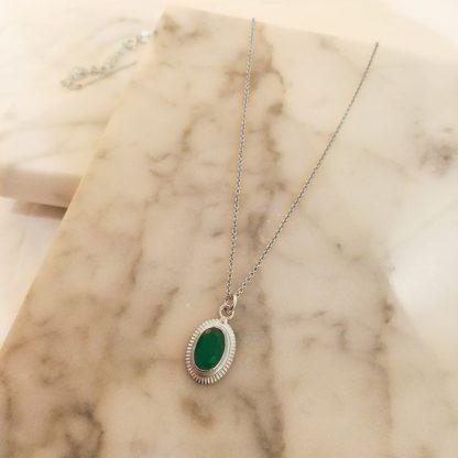 Cinda green silver