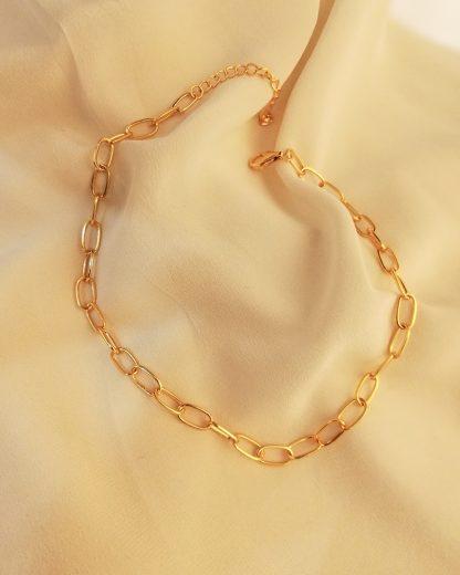 Round Chain Gold
