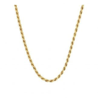 Collar Twisted Gold