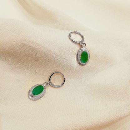 Pendientes Cinda Green