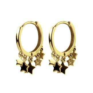 Pendientes Stars Gold