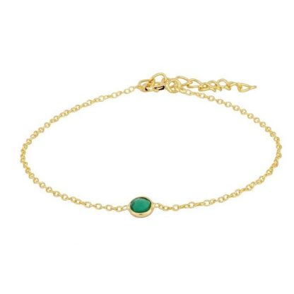 Pulsera Daria Green Gold