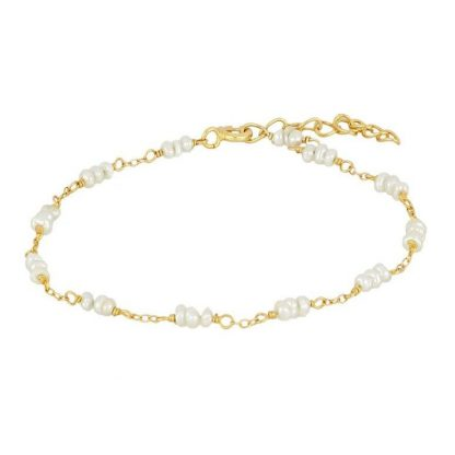 Pulsera Tripearl Gold