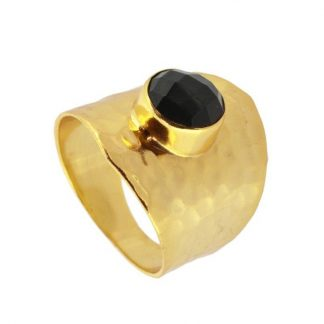 Anillo Kaya Black Gold