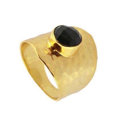 Anillo Kaya Black Gold
