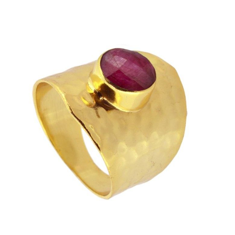 Anillo Kaya Red Gold