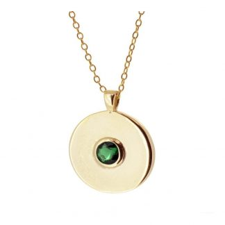 Collar Cloe Green Gold