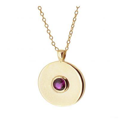 Collar Cloe Lilac Gold